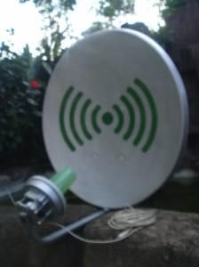 antenna WLAN ku..